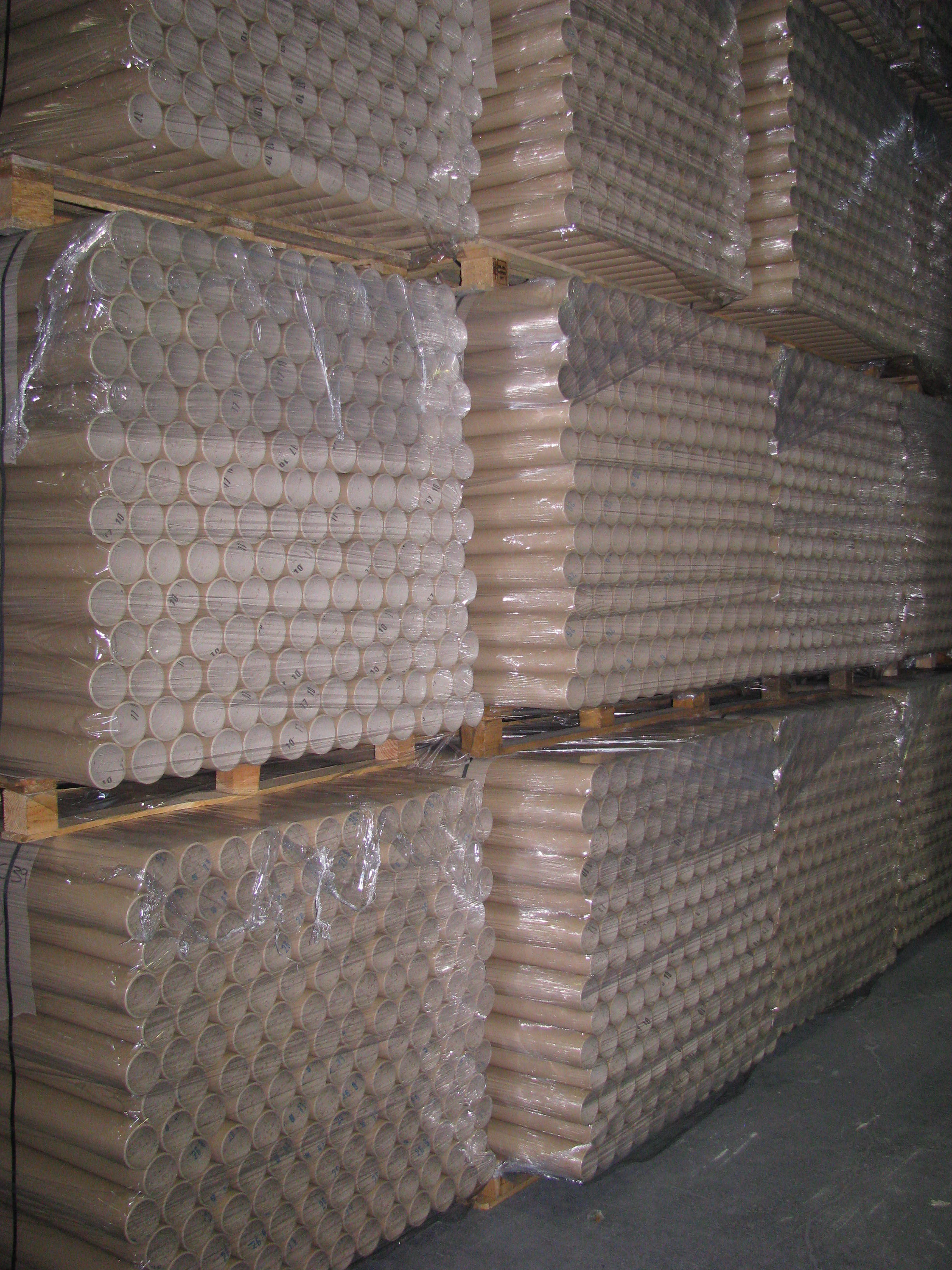 Pallets of Cores